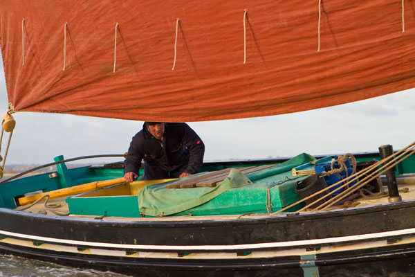 Kevin Finch of Marigold Charters, Maldon Essex